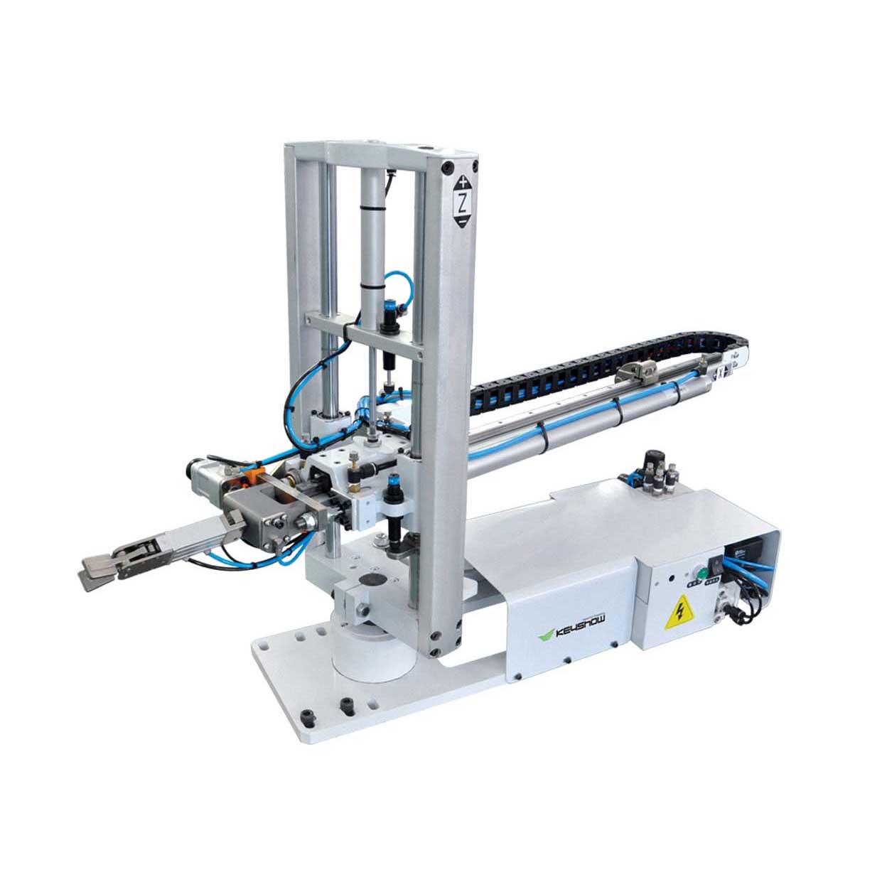 注塑-立式注塑机机械手
