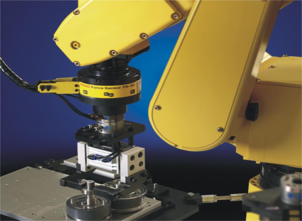 关节机器人装配